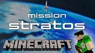 Minecraft Felix Baumgartner Red Bull Stratos Skok [PL]