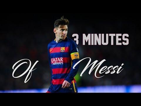 3 minutes of LIONEL MESSI ● Legendary Dribbling Skills