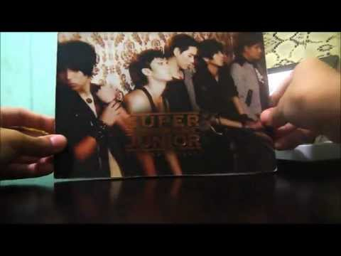 [UNBOXING] Super Junior 4th Album Bonamana Ver. A [PH Release]