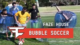 FaZe House Bubble Soccer