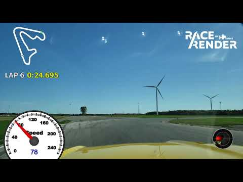 Lapping Toronto Motorsports Part (TMP) Cayuga in Ford Mustang GT 2015