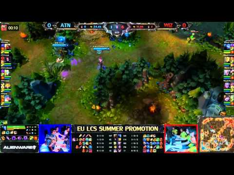 Team Alternate vs Wizards Game 1/3 LCS 2013 EU Summer Promotion Matches
