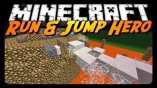 Minecraft: RUN N' JUMP HERO! (Parkour Map)