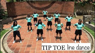 Tip Toe Line Dance (Advance Level)