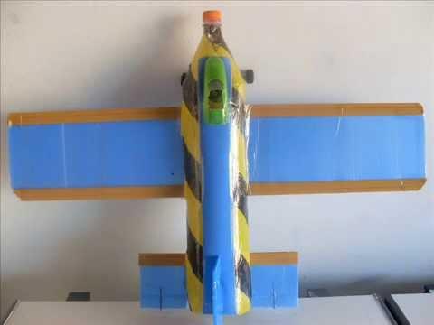 Carro Feito Com Garrafa Pet >> Avião de garrafa PET e Pastinha de polionda - YouTube