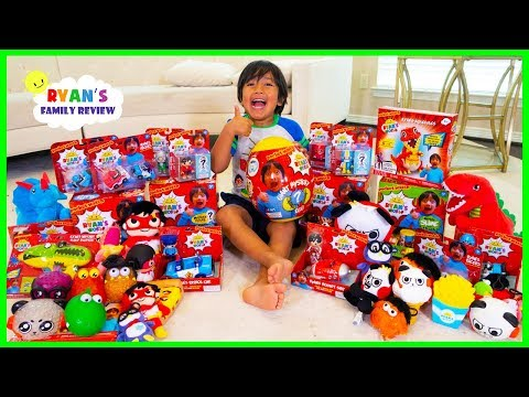 SURPRISE RYAN with All of His New Toys and Merch Ryan's World from Walmart!!!