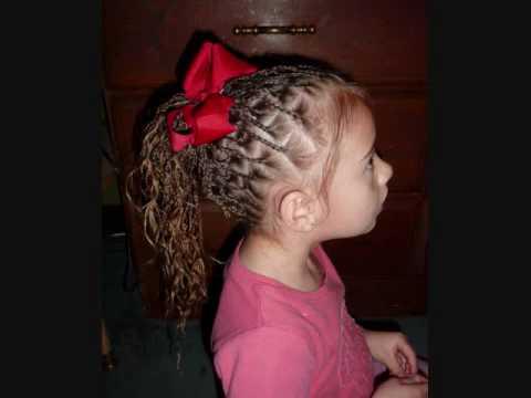 Cute Girls Hairstyles | Waterfall Bra.