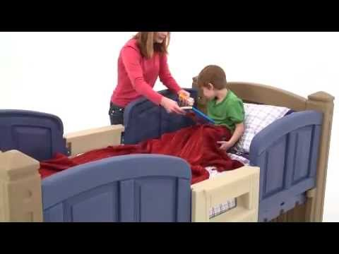 Step2 Loft Storage Twin Bed - YouTube