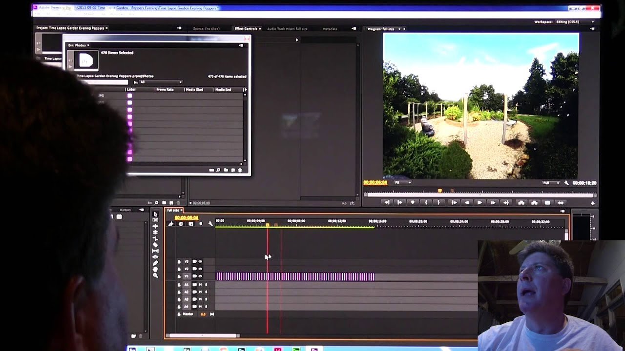 how to create a timelapse in premiere pro cc