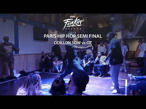 Funkin' Stylez Paris preselections - Hip hop semi final : Odilon Sow vs Oz