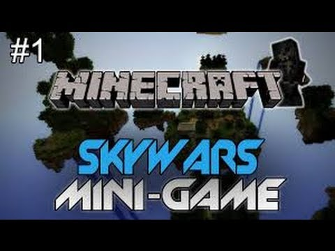 Minecraft SkyWars Minigames W/ Friends!