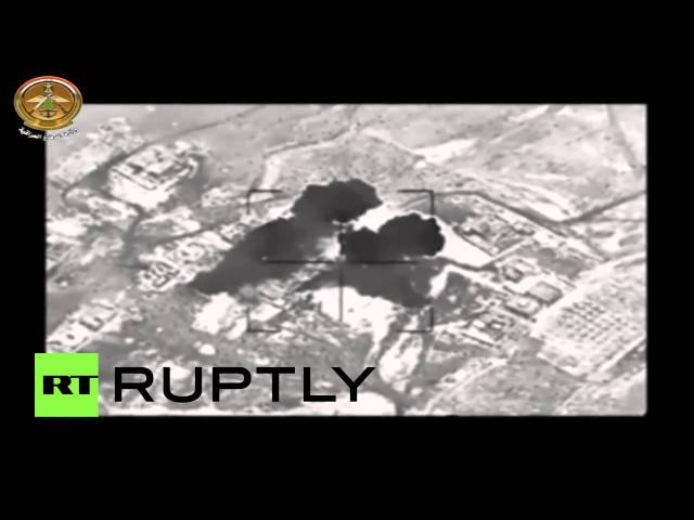 Raining Fire: Airstrikes rock ISIS positions in Iraq and Syria