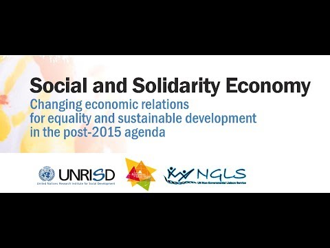 Social and Solidarity Economy @ United Nations (Mont-Blanc Meetings), 2014