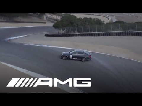 C 63 AMG Coupé Full Drift - Corkscrew at Laguna Seca