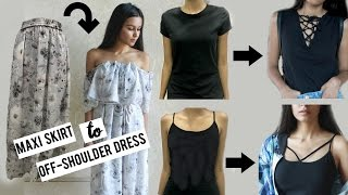 DIY Clothes From Old T-shirts