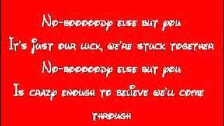 A Goofy Movie-Nobody Else But You Lyrics