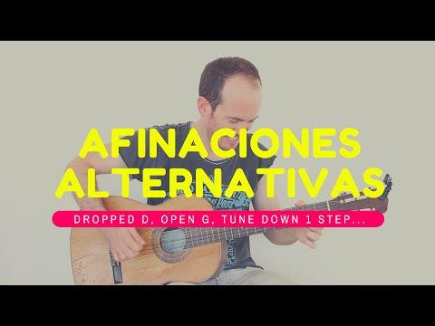 Afinaciones Alternativas Cómo Dominarlas Rápido y Fácil - Guitarra Dropped D, Open G, Tune Down...