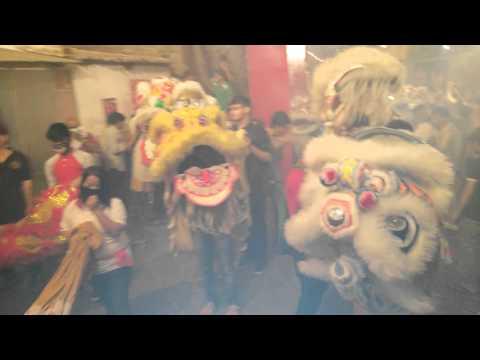 February 7, 2016 - Chinese New Year celebration live Fire Crackers @Kolkata, India