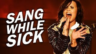 Download Lagu 5 songs Demi Lovato recorded WHILE SICK or TIRED! Gratis STAFABAND