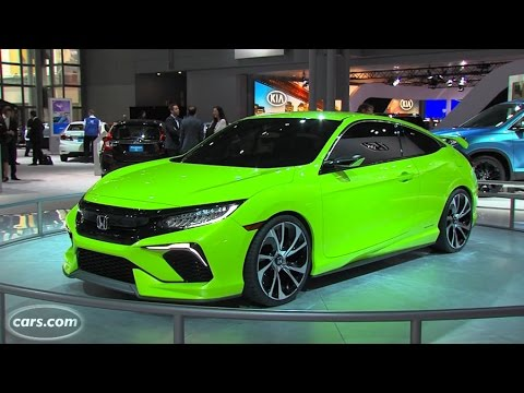 Honda Civic Concept - First Look