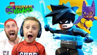 Lego DC Super-Villains vs Nightwing and Batgirl | KidCity