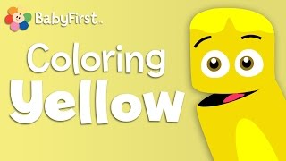 Lemons, Corn and Bananas | Yellow | Learn the Colors | Color Crew | BabyFirstTV