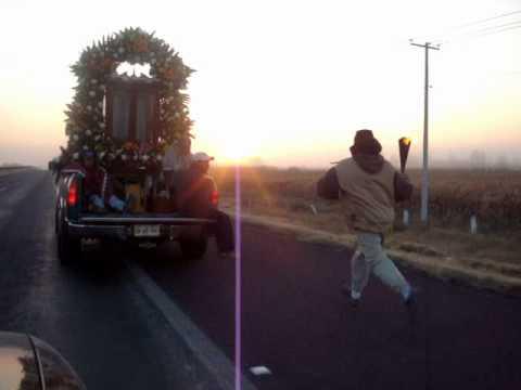 Peregrinación Antorchista San Miguel Octopan al Tepeyac