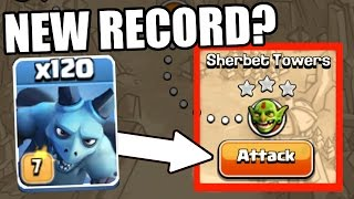 Clash Of Clans | MINION MADNESS! | Impossible Single Player Challenge 2016! Max Level 7!