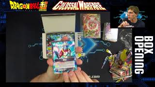Dragon Ball Super Colossal Warfare - Box Opening