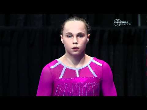 Rebecca Bross  at 2012 Visa Championship - night 1 routines