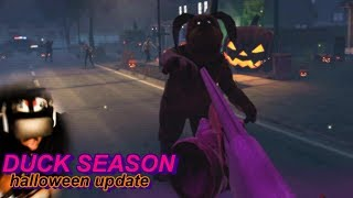 THERE ARE ZOMBIES EVERYWHERE!! MOM IS A ZOMBIE!? | NEW Duck Season #6 (Halloween Update)