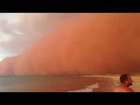 Onslow, Pilbara Western Australia Dust Storm