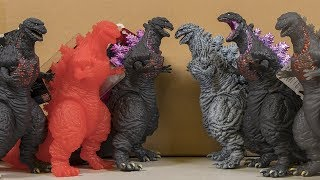 Shin Godzilla Bandai Figures Reviewed