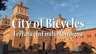 Cycling in Ferrara - Italian City of Bicycles in Emilia Romagna