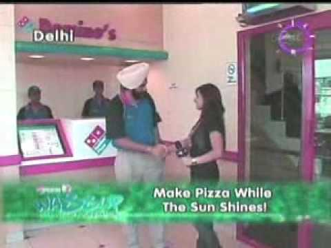 Make Dominos Pizza in one minute the Youngistan Way
