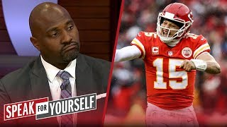 Whitlock and Wiley discuss who has the edge in the AFC Championship | NFL | SPEAK FOR YOURSELF