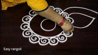 download lagu Easy Rangoli Designs  Out Dots For Nava Rathri gratis