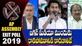 YSRCP Leader Sudhakar Babu Responds On YS Jagan Silence Over Results | EXIT POLL 2019 | hmtv