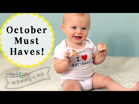 October Baby Product Haul! | A Story of Mommy and Me