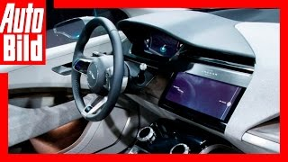 Jaguar I-Pace (2018) Interieur - Digitales Raumwunder /Weltpremiere/Review