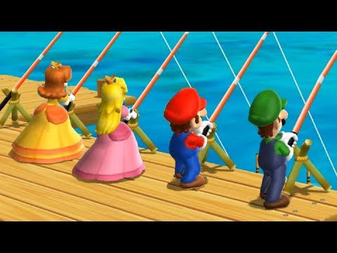 Mario Party 9 - All Lucky Minigames