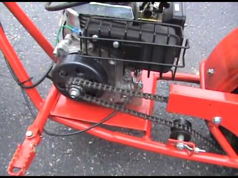 Baja Doodle Bug Minibike Clutch Maintanence