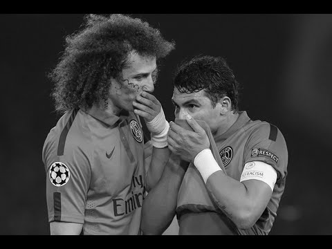 David Luiz and Thiago Silva - Best DEFENSIVE duo in the world! 2015