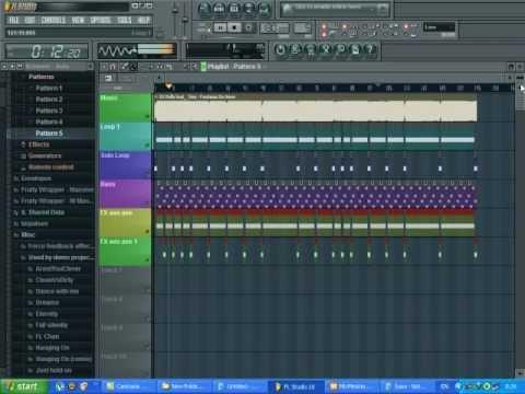 HD สอนมิกเพลง เขียนลูป เดินเบส FL10 - DJTEEREMIX