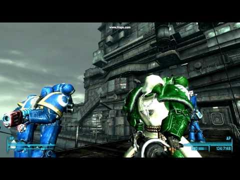 Fallout 3 Warhammer 40k mod dark angels