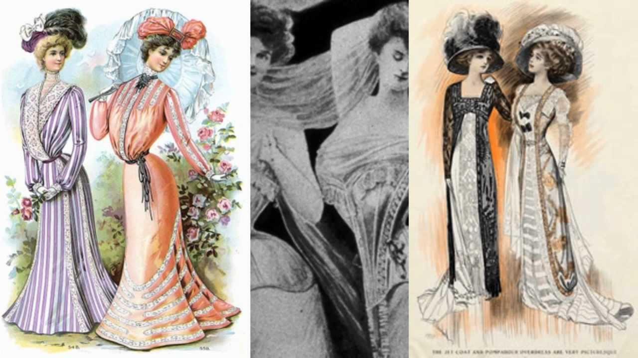 Vintage Women Vintage Fashion From The Edwardian Era