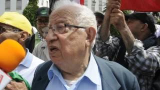 عبد الرحمان بنعمر :وقفة غضب الشعب المغربي لمساندة الشعب السوري ضد الإمبريالية الإستعمارية: