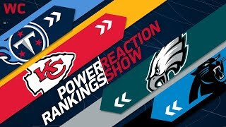 NFL Power Rankings End of Season Reaction Show: Biggest Disappointment & Surprise of 2017?   NFLN