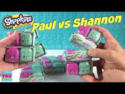 Paul vs Shannon Shopkins Season 5 Edition 2 Packs | PSToyReviews