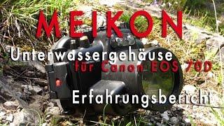 Meikon - Günstiges Unterwassergehäuse für Spiegelreflexkamera (DSLR) - Erfahrung - Review – Test